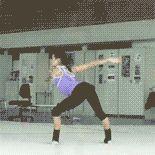 Rhythmic gymnastics | Tumblr. I wonder why Yulia Lipnitskaya hasn't tried this as a spin on the ice yet