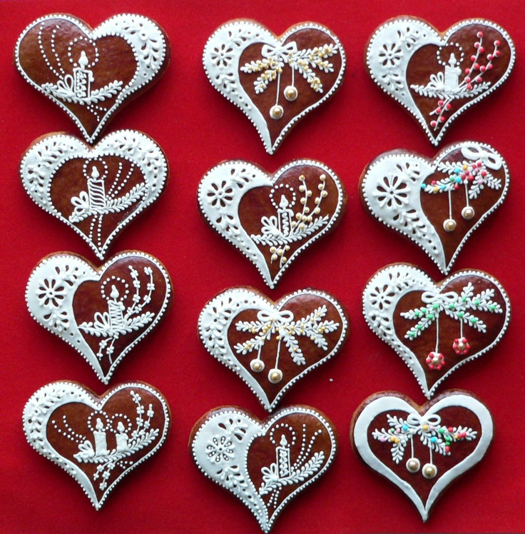 Bilderesultat for gingerbread heart