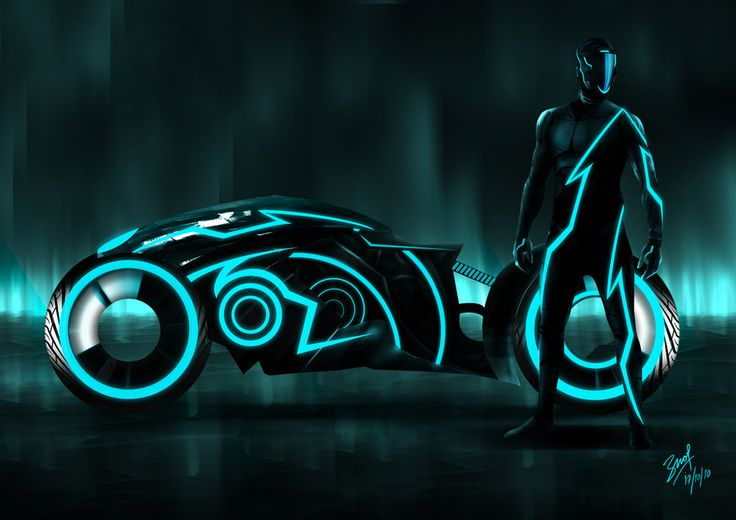 Tron. I didn't see this one in the movie....  Hmmmm.
