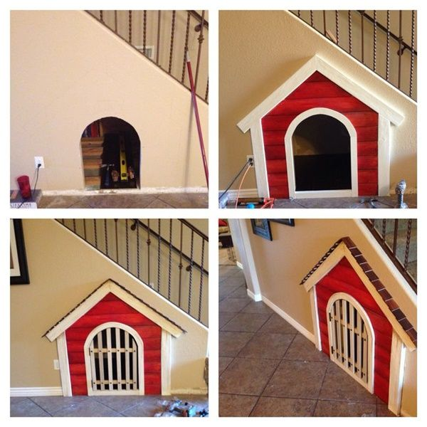25 Great Ideas of Dog House under Staircase - Tail and Fur