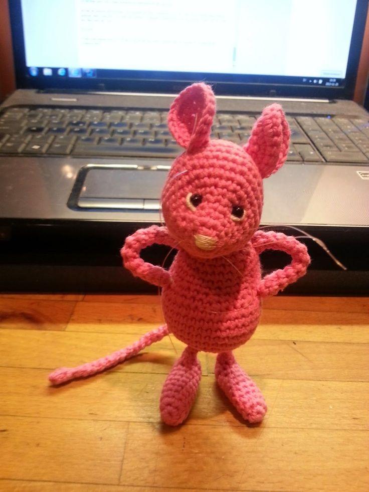 Hjälp den rosa skogsmusen hjälpa   Så har jag äntligen kommit på en vettig användning av mina små möss. Jag ska försöka beskriva...