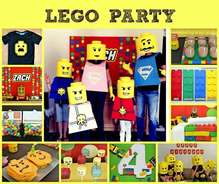 Nombreuses idées pour un anniversaire Lego