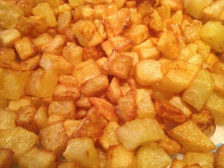 """I Caserecci in 3 passaggi! Le patatine """"piccoline"""" #patatine #fritti"""