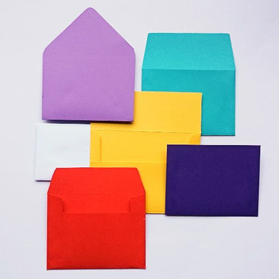Need a specific size of envelope, but don't want to buy a full pack? Make your own handmade envelopes in any size. (Plus, seal with homemade envelope glue!)