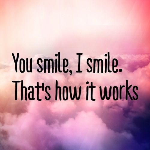 Smile love quotes tumblr cute amazing | Q u o t e s ♡ | Pinterest