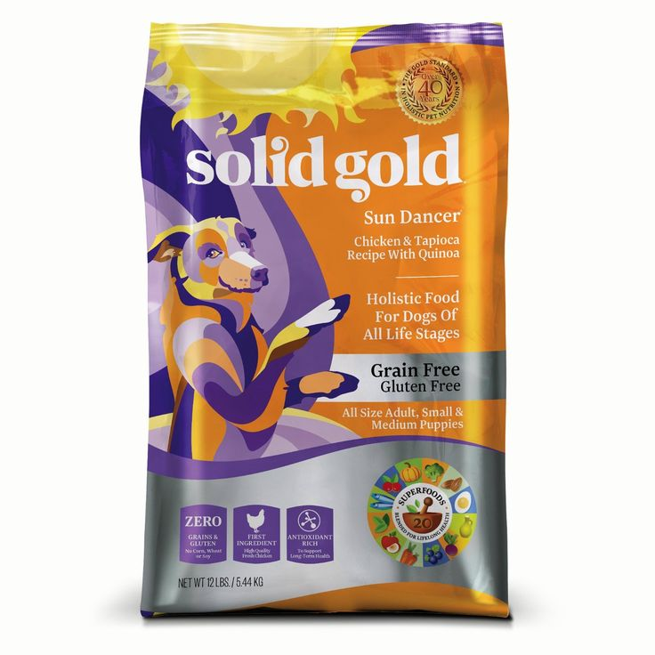7 solid gold holistic grain free dry dog food http