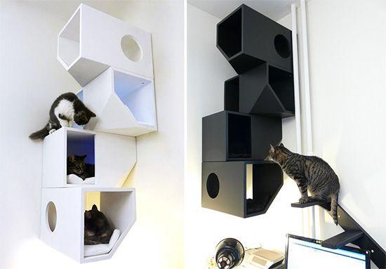 15 besten katzenm bel bilder auf pinterest haustiere die katze und katzenm bel. Black Bedroom Furniture Sets. Home Design Ideas
