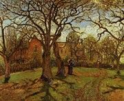 "New artwork for sale! - "" Chestnut Trees Louveciennes Spring 1870 by Pissarro Camille "" - http://ift.tt/2mx6nwb"