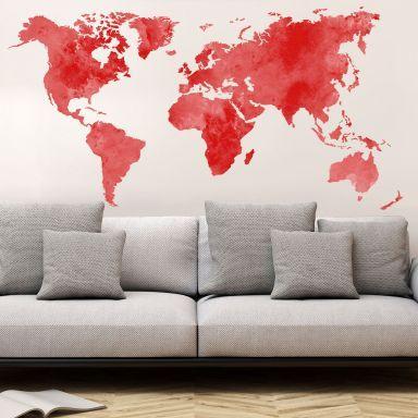 Die besten 25+ Weltkarte wand Ideen auf Pinterest Weltkarten - wandtattoo braune wand