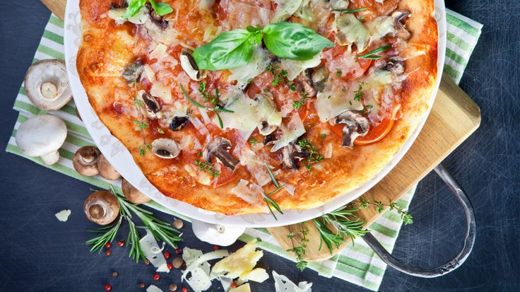 Receita de Pizza rústica de abobrinhas e prosciutto - Recipe