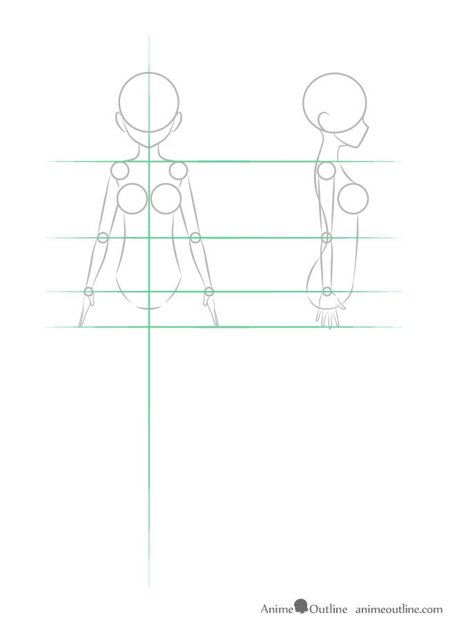 How To Draw Anime Anatomy Step By Step Anatomy People Free Online Drawing Tutorial Added By Puzzl Anime Drawings Anime Drawings Tutorials Drawing Tutorial