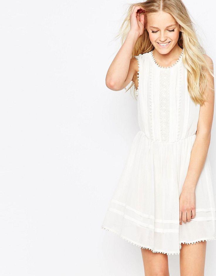 Image 1 of Brave Soul High Neck Lace Dress