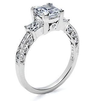 Princess Cut Diamond Engagement Rings Tacori 18