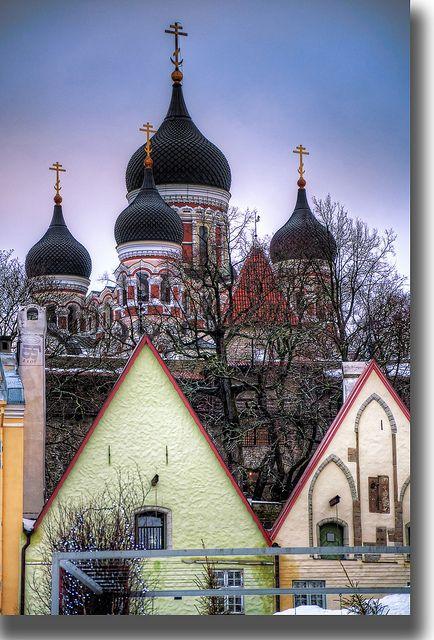 Alexander Nevsky Cathedral, Tallinn Estonia / Summer 2015