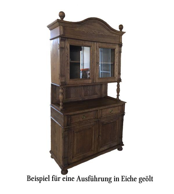 Landhaus Kuchenschrank Klein Massiv Aus Holz Kleiner Schrank Kuchenbuffet Eiche Rustikal