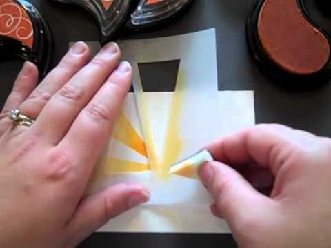 Tips & Tricks: Hello Sunshine...sun rays dies and stamps from Paper Trey Ink...long video...cool effects...