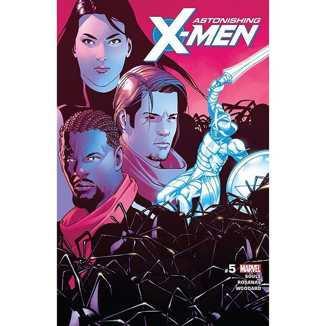 Astonishing X Men 2017 5 Written By Charles Soule Art By Ramon Rosanas Cover By Ramon Rosanas The Life Of X Continues The Shadow X Men 5 X Men Shadow King