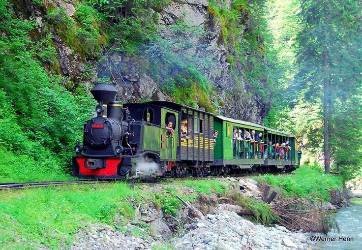 Mocanita Steam Train - Vaser Valley - Maramures County - Romania