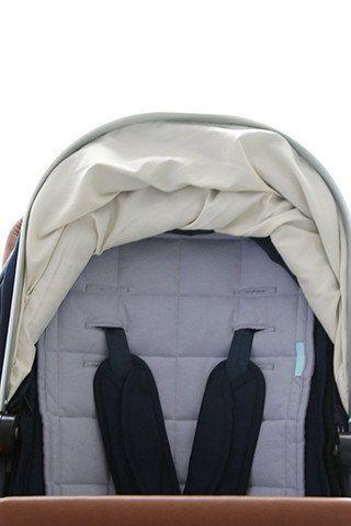 Pram liner - buggy liner - Bella Buttercup - 100% jersey - water resistent pram liner