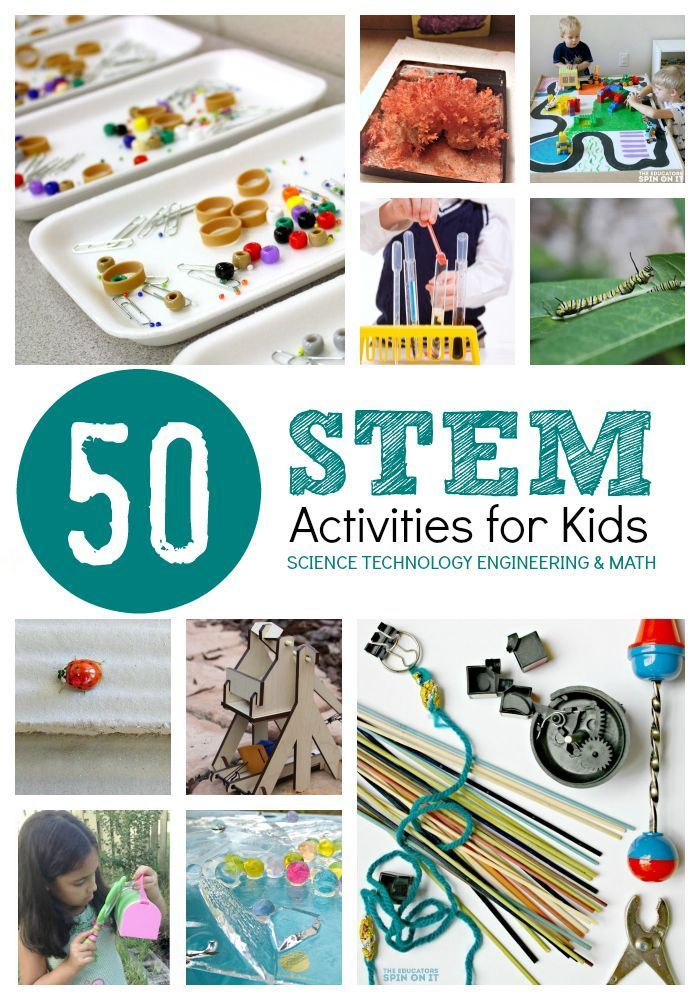 STEM Activities for Kids featured at The Educators' Spin On It