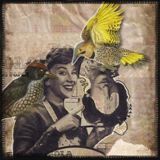 #Collages by Ezequiel Eduardo Ruiz #art, #vintage