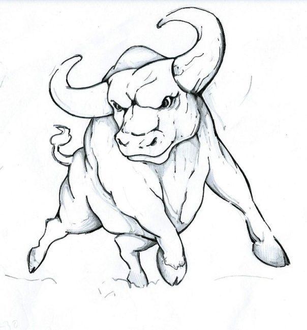 Раскраска Быки и Коровы на Новый год 2021 для детей в 2020 ...