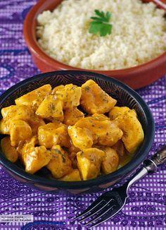 Receta fácil de pechuga de pollo a la naranja. Con fotos del paso a paso, consejos y sugerencias de degustación. Recetas de aves. Recetas rápida...