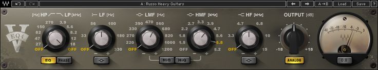 Another Waves Audio take on a vintage Neve equaliser, this time it's the 1081. As with the V-EQ3, a really lush sound and great for piano and strings.