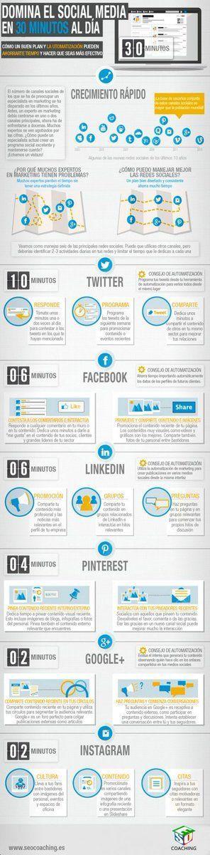 Domina el #SocialMedia con 30' al día