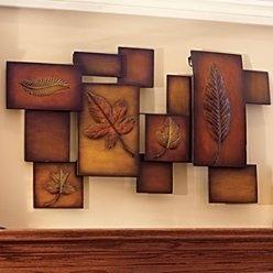 Abstract Leaf Metal Wall Art - Improvements by Improvements, http://www.amazon.com/dp/B004BV6TTK/ref=cm_sw_r_pi_dp_ZFnIpb1X10JAX