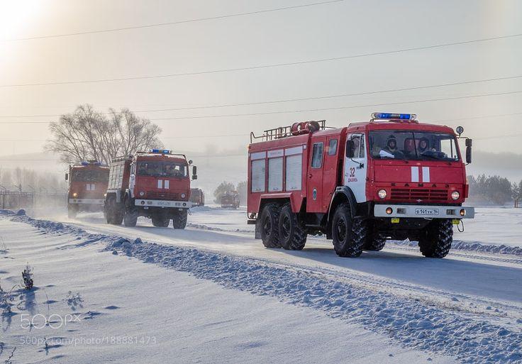 пожарные машины by irekgaliulli