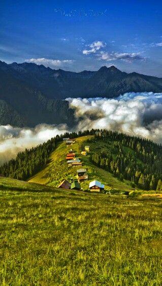 Kaçkar Mountains. Türkiye.
