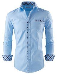 20 best mens apparel images on pinterest medium medium for Tom s ware mens premium casual inner contrast dress shirt