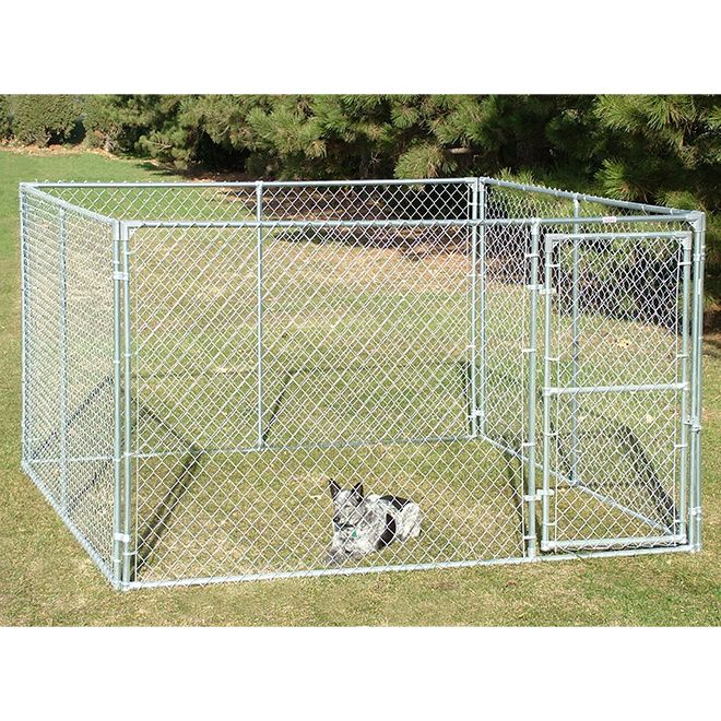 Behlen Country Dog Kennel 12 1 2 Ga Galvanized 10 X 10 X 6 441006 Rona Dog Kennel Pet Kennels Dog Runs