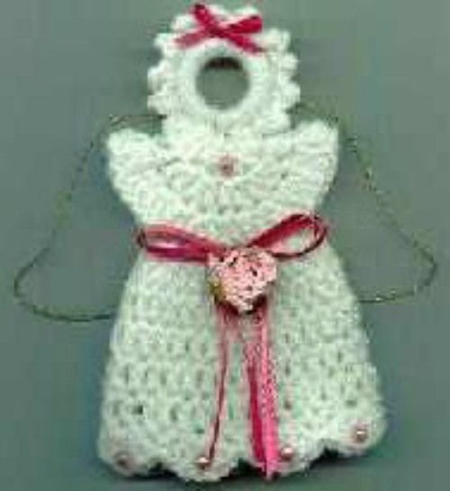 Knitting Pattern Angel Ornament : 1000+ images about Angel Crochet & knit Patterns on ...