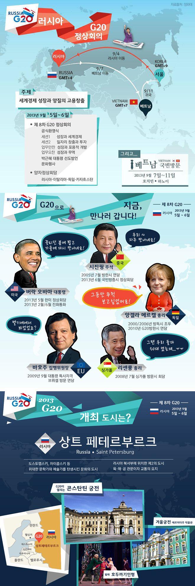 [대한민국 청와대] 2013 G20 러시아 정상회의 / [CHEONG WA DAE, Republic of Korea] 2013  G20 summit held in St. Petersburg, Russia. ※ [사진제공_대한민국 청와대] 본 저작물은 공공저작물 자유이용허락 표준 라이선스 '공공누리'에 따라 이용하실 수 있습니다.