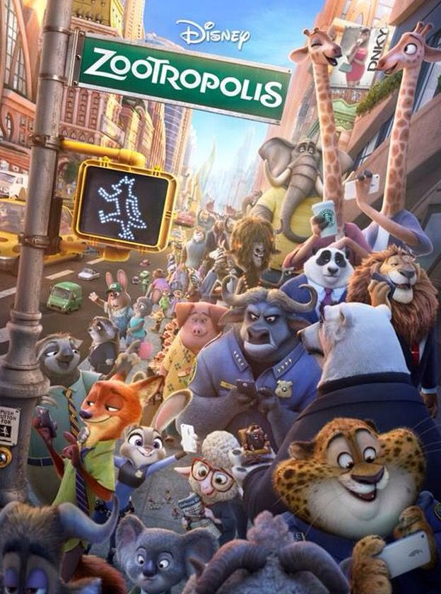 Zootropolis UK Poster - Loved this film, good film for all ages and a nice…