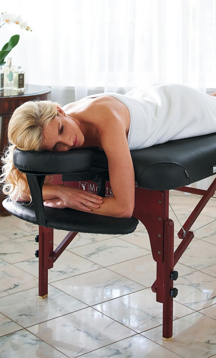 Enhance your relaxation at home with our exclusive Master Therma-Top™ Massage Table. The patented built-in Therma-Top™ delivers consistent heat to keep muscles warm and relaxed during a massage.