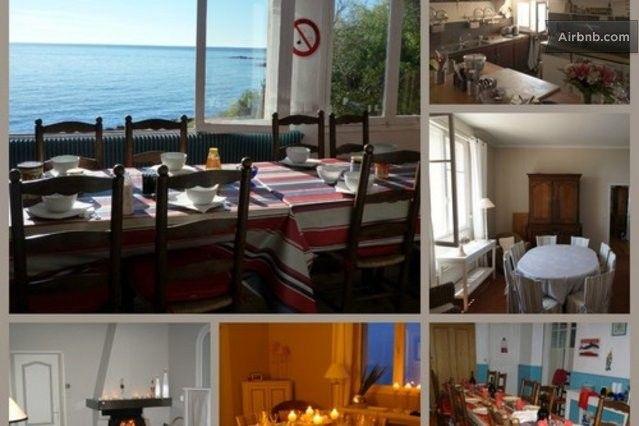 Aan de zee, Frankrijk,  Villa les pieds dans l'eau in Saint-Raphaël