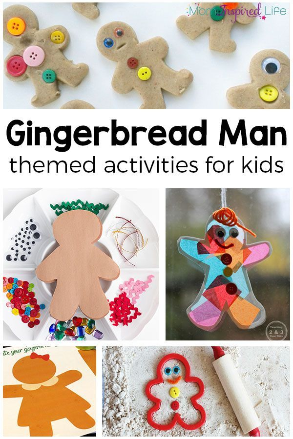 137 best Gingerbread Man Activities images on Pinterest ...