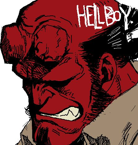 #Comics HellBoy  [loves on] ❤❤❤❤