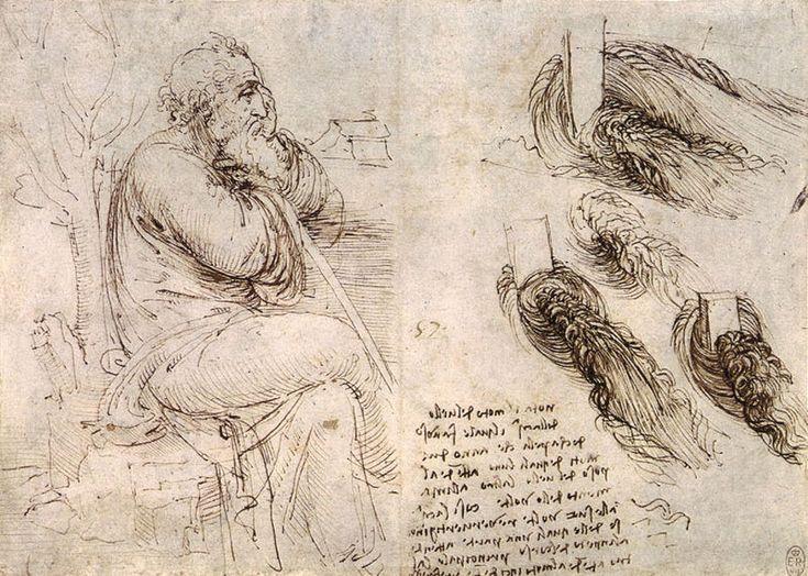 Contour Line Drawing Leonardo Da Vinci : Best leonardo da vinci images drawings of human
