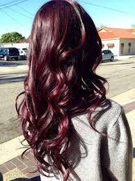 cheveux rouge cerise recherche google hairs pinterest violettes cheveux bruns et. Black Bedroom Furniture Sets. Home Design Ideas