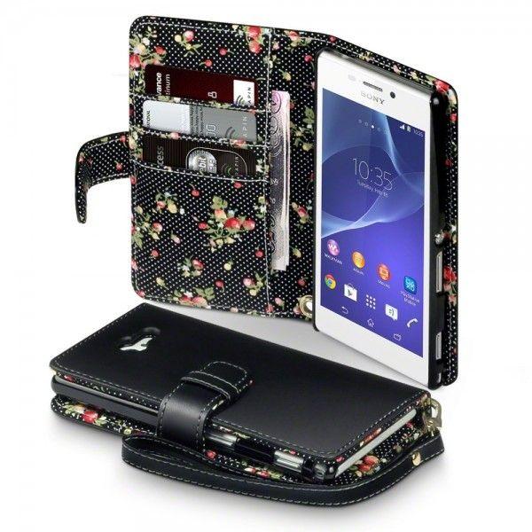 Terrapin Θήκη Πορτοφόλι Wallet Case (117-005-323) Μαύρο (Sony Xperia M2) - myThiki.gr - Θήκες Κινητών-Αξεσουάρ για Smartphones και Tablets - Χρώμα Μαύρο