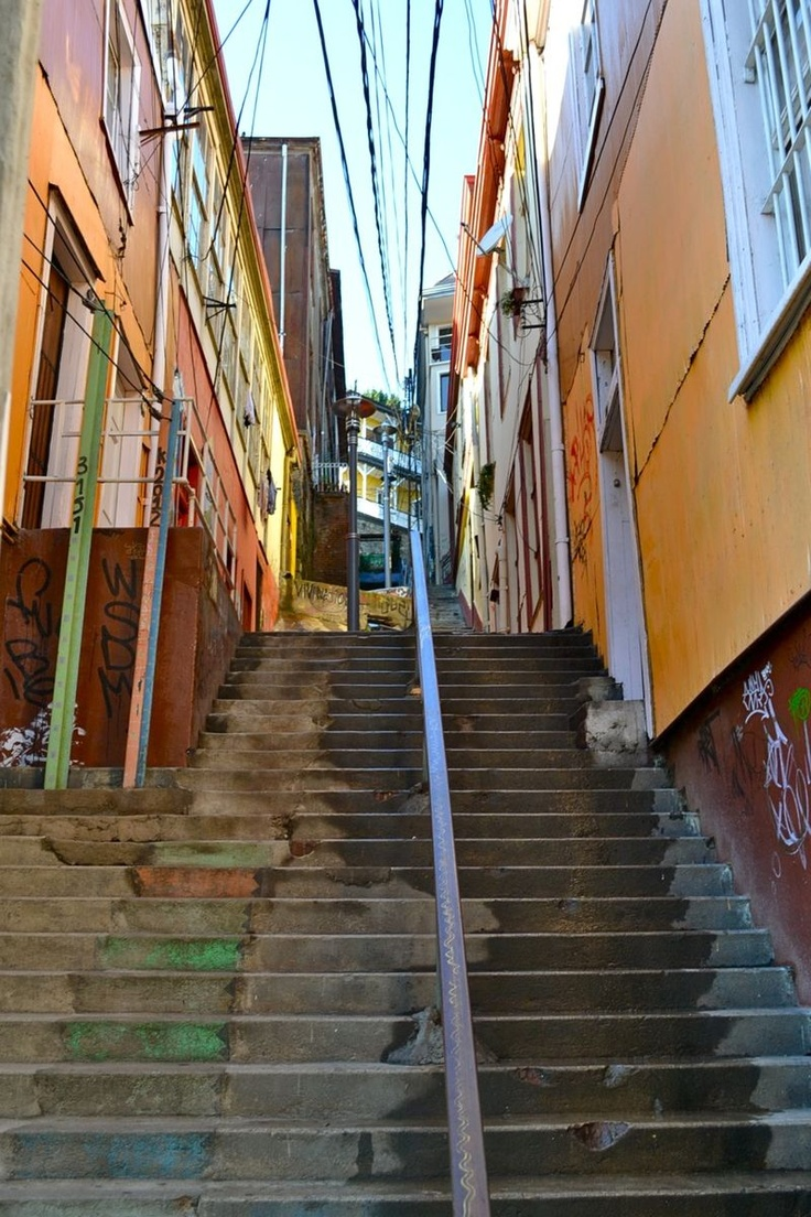 Valparaiso, Chile  I so hope to get to here this summer to meet my in-laws and step sons.