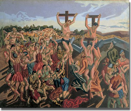 Image from http://www.methodist.org.uk/static/artcollection/images/pic24_the_crucifixion.jpg.