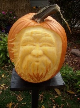 Giant Pumpkin Carving Pictures, Jpegs, Images, pumpkin carver