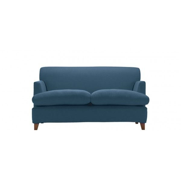 Positano Modern Loose Cover 2 Seater Sofa. UK-made in a Choice of 9 colours; 5 year warranty, fast UK delivery & 21 day home trial. Order online today.