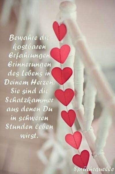 ...Erinnerungen des lebens in deinem Herzen...