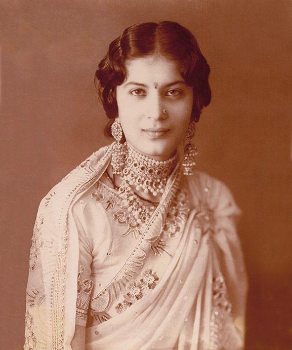 Kanwarani Danesh Kumari, Patiala, Punjab, circa 1933.